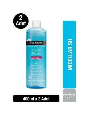 Neutrogena Hydro Boost Micellar Water 400 Ml X2 Renksiz